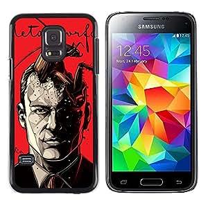 """For Samsung Galaxy S5 Mini ( NOT for regular S5 ) Case , Metamorfosis rojo impresiones Hombre libro"""" - Diseño Patrón Teléfono Caso Cubierta Case Bumper Duro Protección Case Cover Funda"""