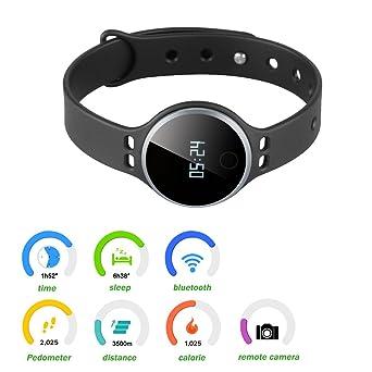 Excelvan-Smartwatch Bracalet Reloj Bluetooth 4,0-Rastreador ...