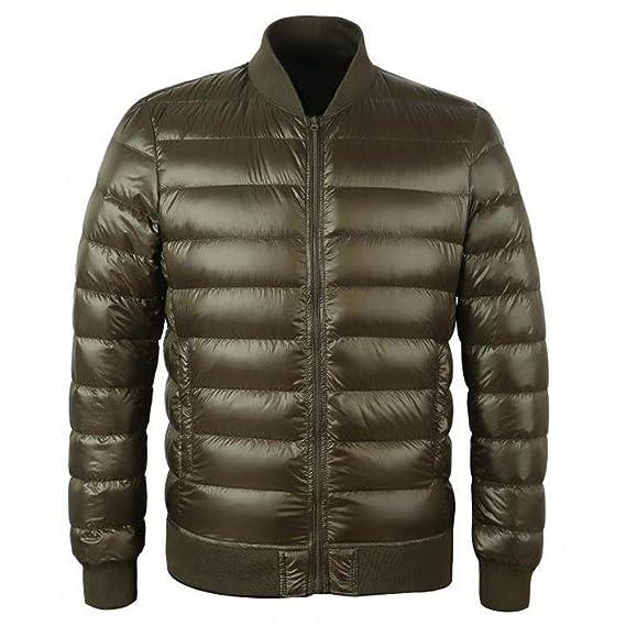 ad412e6bc MAZF Duck Down Jacket Men Winter Warm Coat Stand Collar Filling ...
