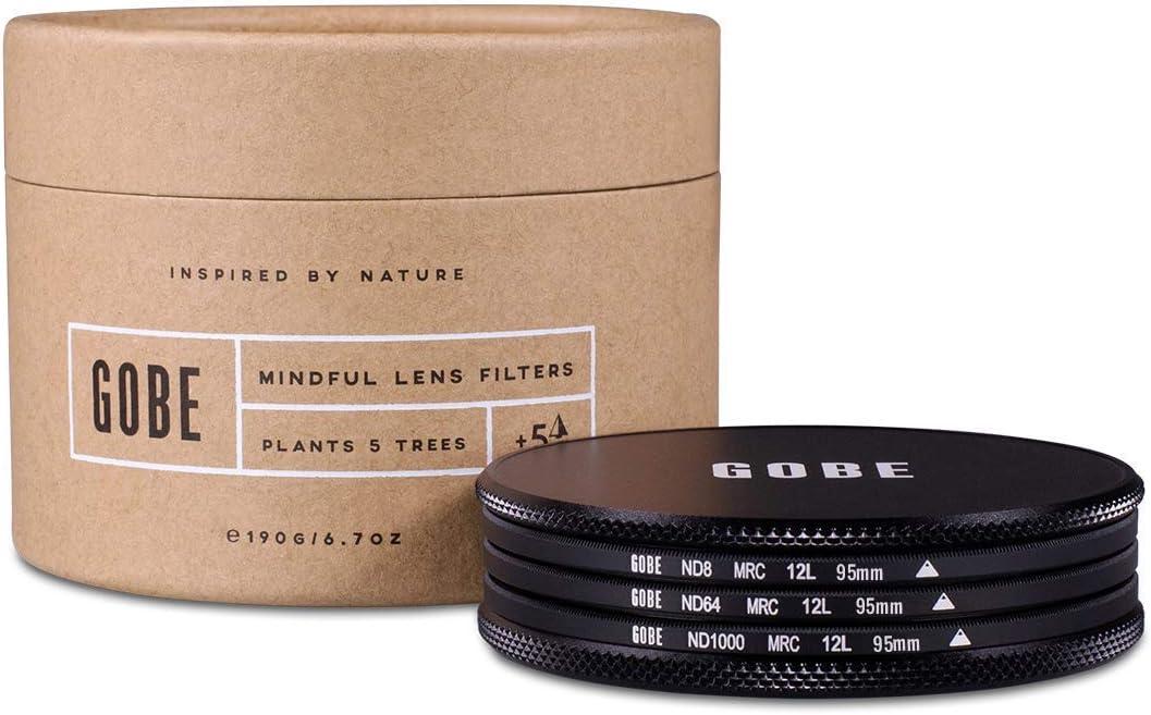 ND64 ND8 ND1000 Gobe ND Filter Kit 77mm MRC 12-Layer