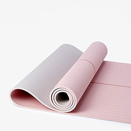 Amazon.com : YXGYJD Yoga Mat Home Gym Exercise Mat Fitness and Camping, Rebound, Non-Slip, Tear Resistant, Tasteless, 183 61, 5 Mm Thick, Pink, ...