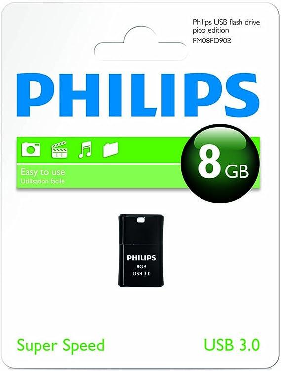 Philips Fm08fd90b 10 Usb 3 0 Flash Drive 8gb Pico Computers Accessories
