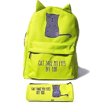 Amazon Com Cat Mini Backpack Gift Set For Girls Women Kids