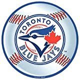 """Sports and Tailgating MLB Party Toronto Blue Jays Cutout Decoration, Laminated Cardstock, 12"""", Pack of 1"""
