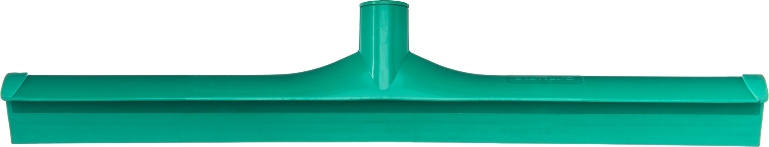 Carlisle 3656709 Solid One-Piece Foam Rubber Head Floor Squeegee, 20'' Length, Green (Case of 6)