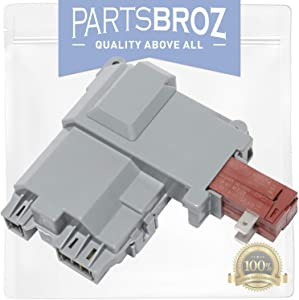 131763202 Door Lock Switch Assembly for Frigidaire & Electrolux Washers by PartsBroz - Replaces AP6285657, 131763202, 131763255, 1312694, 131269400, 131763200, 131763245, 3626240, PA66-GF25