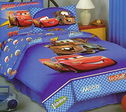Disney Cars the World of Cars Twin Sheet Set
