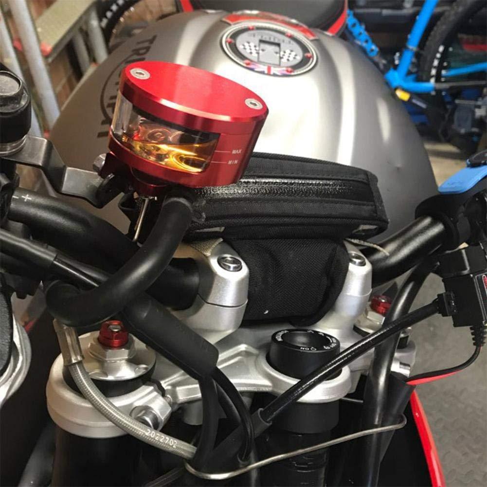 CNC Motocicleta Embrague de Freno Cilindro Maestro depósito de Fluido Tanque de Aceite Taza (Color : Negro): Amazon.es: Coche y moto