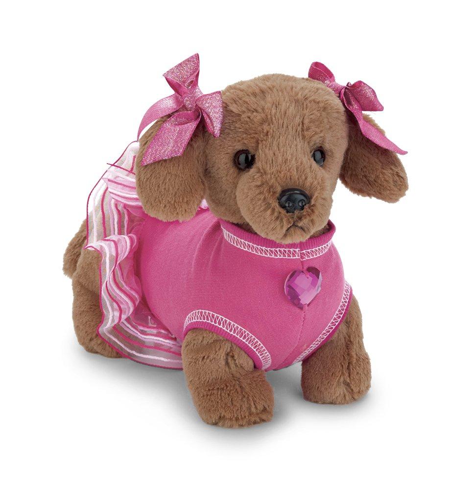 Bearington Haute Doggie Stuffed Animal Dachshund Toy Puppy Dog, 12''