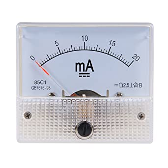 Tool Parts AC 0-20 Amp Analog Current Panel Meter Amperemeter New