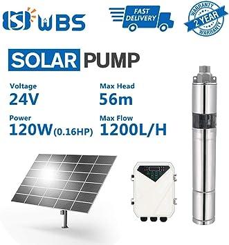 Wbs Pump Deep Well Solar Water Screw Pump Submersible 0 15hp 24v