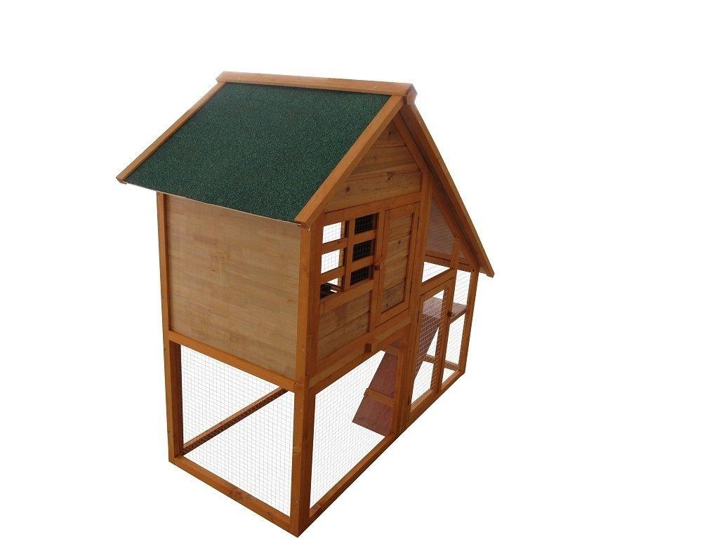 Conejeras, caseta para conejos, caseta para roedores, caseta de exterior para cobayas, para animales pequeños, conejos, cobayas, gatos, etc.