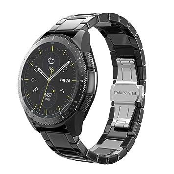 SHSH - Correa de Repuesto de cerámica para Samsung Galaxy Watch 42 ...