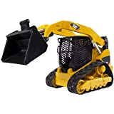 Bruder Toys - Construction Realistic CAT Compact Track Loader with Adjustable and Lockable Loading Arm and Moveable Rubber Ch