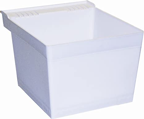 American Standard Laundry Sink.American Standard Fiat White Compression Stone Single Tub With Hanger