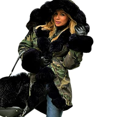 Image Unavailable. Image not available for. Color  Letdown Womens Camouflage  Winter Warm Jacket ... 72c82e0f7a