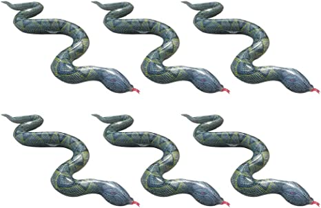 AG/_ Inflatable Simulation Wild Python Snake Kids Children Prank Toy Party Game P