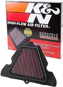 K&N Engine Air Filter: High Performance, Premium, Powersport Air Filter: 2011-2019 KAWASAKI (KLZ1000 Versys LT, Z1000, ZX1000, Ninja ABS, Z1000) KA-1111