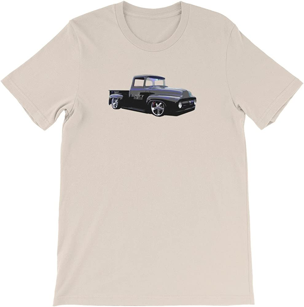 Shift Shirts to The Masses Ford 67 F100 Pickup Inspired Unisex T-Shirt