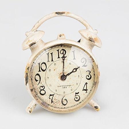 Vintage Chic Alarm Clock Drawer Handle Cupboard Knob Door Pull - Distressed Cream  sc 1 st  Amazon UK & Vintage Chic Alarm Clock Drawer Handle Cupboard Knob Door Pull ...