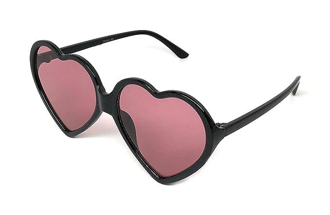 fced95b2fd Amazon.com  Webdeals - Super Cute Heart Shaped Fashion Sunglasses ...
