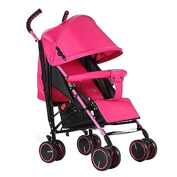 FXZ Cochecitos para niños pequeños Peso Ligero Sistema de Viaje Plegable y acostado para bebés Que Absorbe los Golpes 0-3 años (Color : B): Amazon.es: Hogar