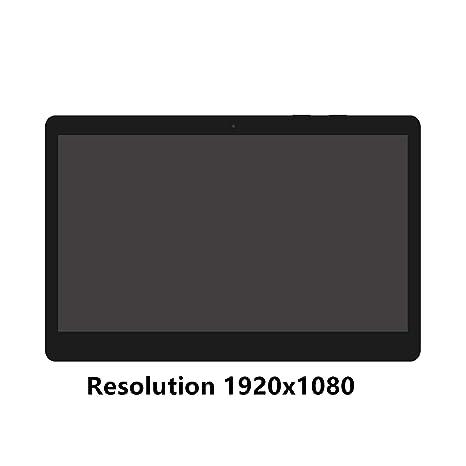 FTDLCD® 13.3 Inch FHD QHD LCD Pantanlla Táctil Digitalizador Asamblea Repuesto de Portátil Ordenador B133HAN02