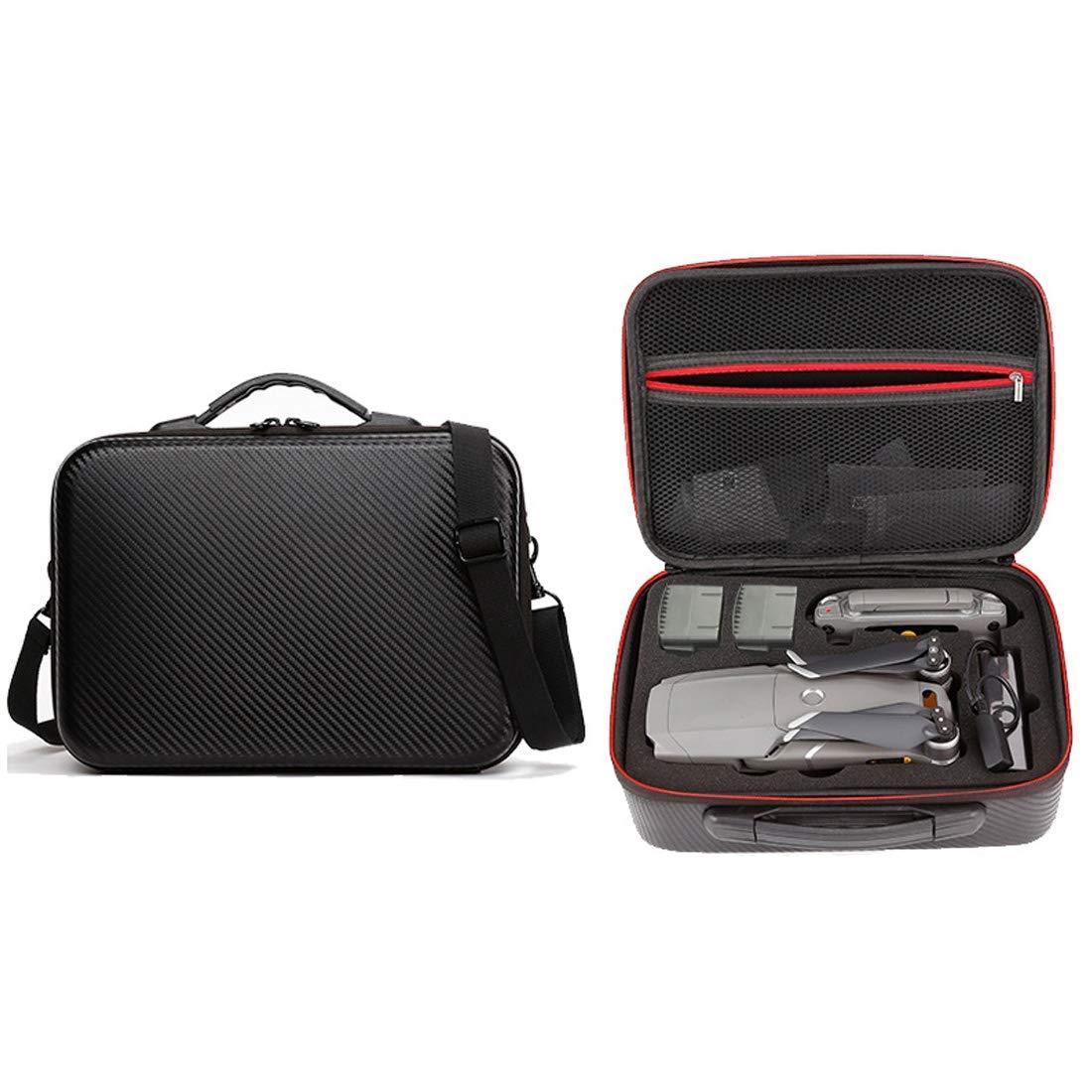 ZQ House Portable Double-Deck Single Shoulder Waterproof Storage Travel Carrying Cover Case Box for DJI Mavic Air Convenient (Color : Black)