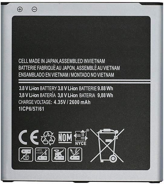 TY BETTERY Bateria Compatible con EB-BG530BBC Samsung Galaxy J3//J3 2016//J2 Pro//Grand Prime// J3 Emerge//J3pro//J5//J2 Prime//J3 2018