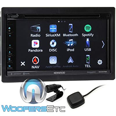 "Kenwood DNX576S 6.75"" DVD Navigation Receiver with CarPlay and Android Auto: Automotive"