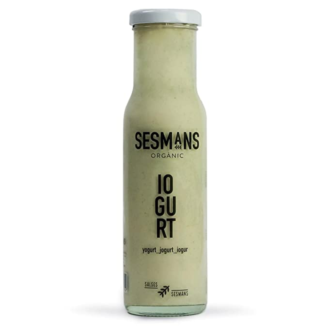 Sesmans, Salsa natural de yogurt - 3 de 240 gr. (Total 720 gr