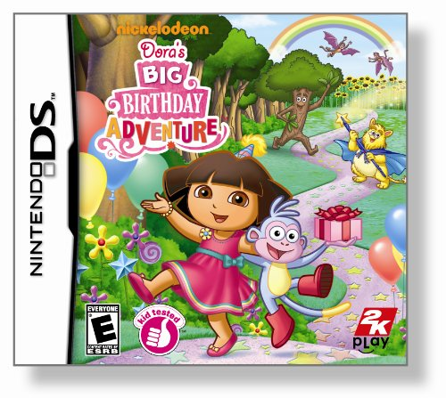 Dora the Explorer: Dora's Big Birthday Adventure - Nintendo DS Dora Adventure Games