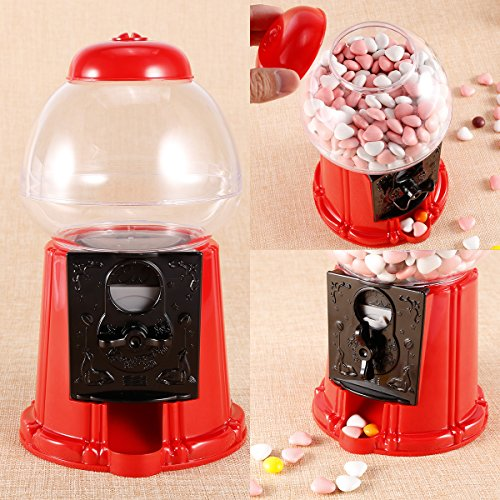 Surepromise Gumball Dispenser Machine Toy With Bubble Gum Pa