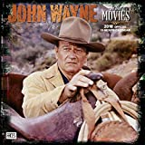 img - for John Wayne in the Movies 2018 12 x 12 Inch Monthly Square Wall Calendar with Foil Stamped Cover by Faces, USA American Actor Celebrity Country book / textbook / text book