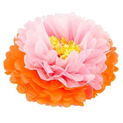 Amazon Com Girls Party Decorations Tissue Paper Flowers Diy Party