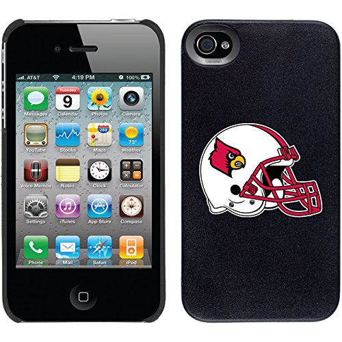 iPhone 4/4S Thinshield Case with University of Louisville Helmet, Color ()