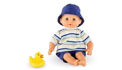 Amazon.com: Corolle Mon Premier Bebe Bath Boy Baby Doll (New ...
