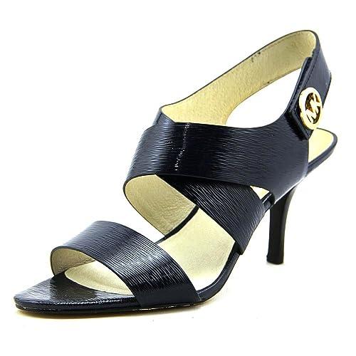 5794476e131aa MICHAEL Michael Kors Joselle Open Toe Women US 8.5 Blue Sandals ...