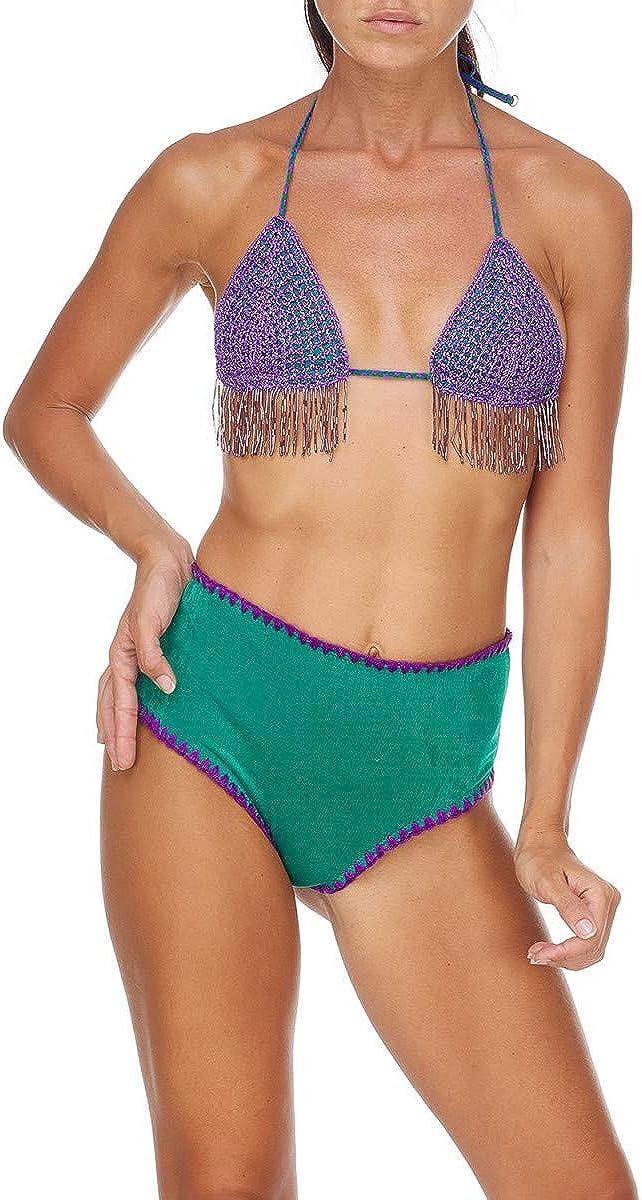 Green me fui Triangle Bikini