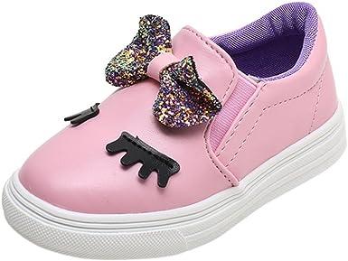 Kids Casual Shoes Children Fashion Baby Girls Bowknot Shy Eyes Sneaker Prewalker