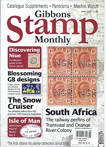 Gibbons Stamp Monthly Magazine (June 2016 - Discovering Niue)