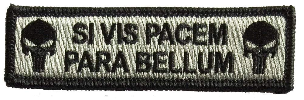 Tactical Patch If You Want Peace Prepare for war Black