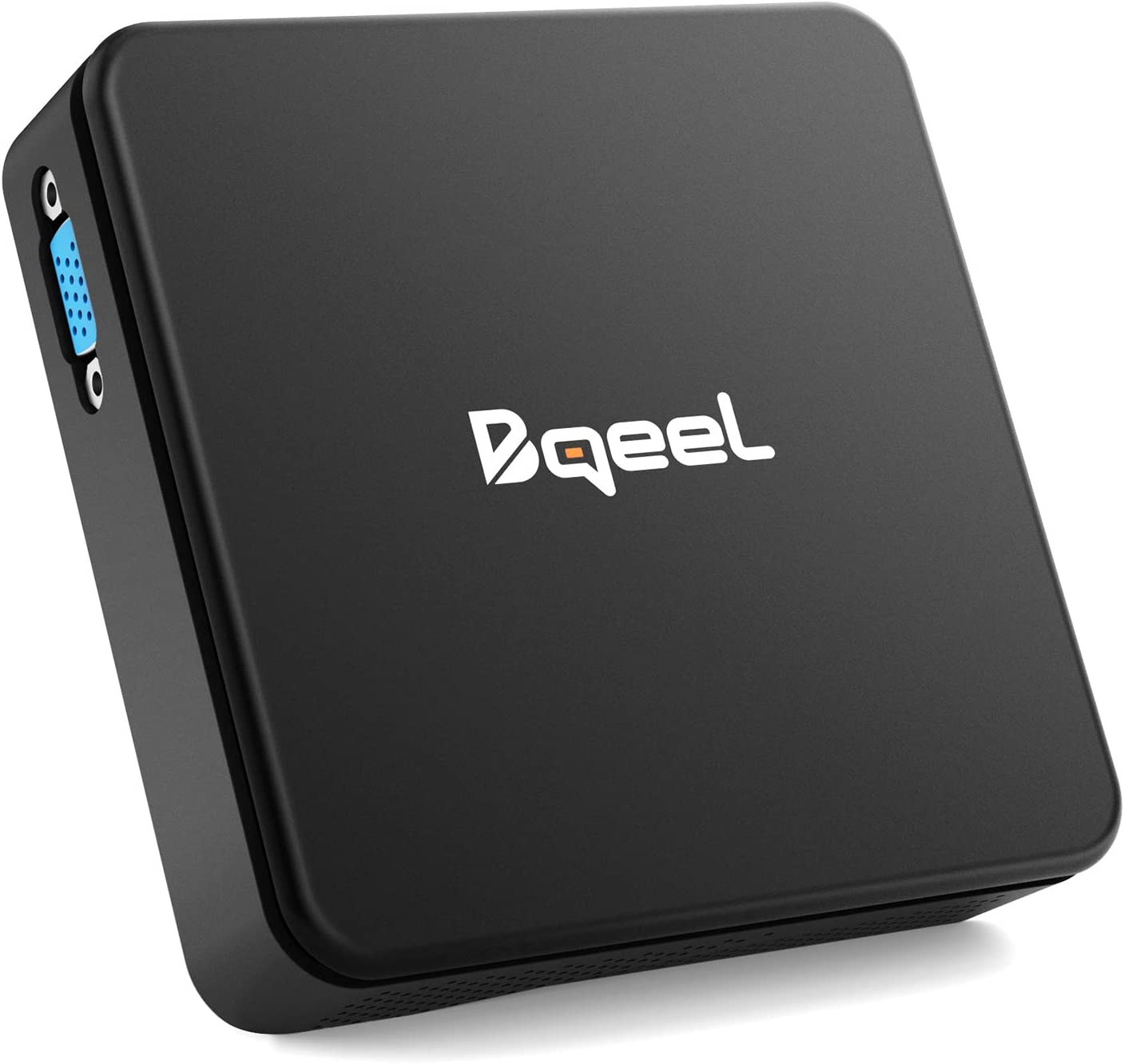 Bqeel Mini PC 【4GB+64GB】 Procesador Intel® Cherry Trail Z8350 soporta Windows 10 Home Dual WiFi 5G/2.4G,Gráfico Intel HD 4K,BT 4.0,Gigabit Ethernet,Salida/USB/SD/VGA Ordenador de Sobremesa