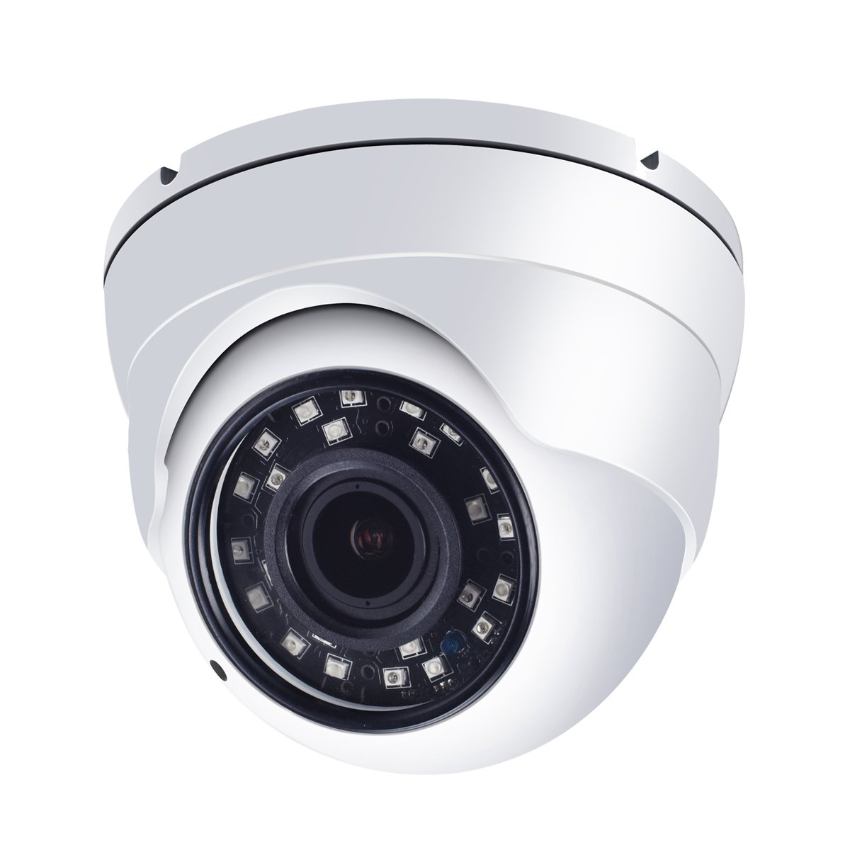 HD BNC 1080p CCTV Dome Security Camera, 2.8-12MM Varifocal Lens, TVI/AHD/CVI/960H 4-in-1 Analog Day Night Surveillance Camera System, IP66 Weatherproof Outdoor Metal