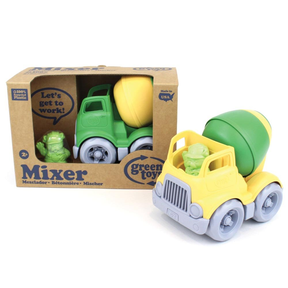 Green Toys Mixer Construction.