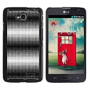 Graphic4You DOT FIESTA PATTERN Thin Slim Rigid Hard Case Cover for LG Optimus L70 Dual