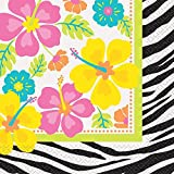 Wild Luau Party Napkins, 20ct