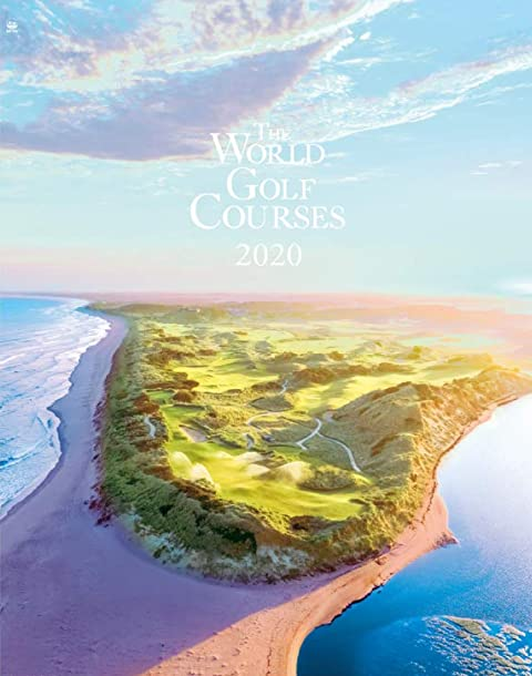 世界のゴルフ場 2020年壁掛けカレンダー