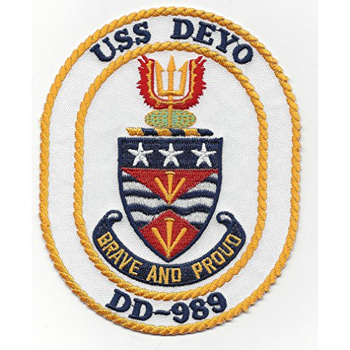 DD-989 USS Deyo Spruance Class Destroyer Patch