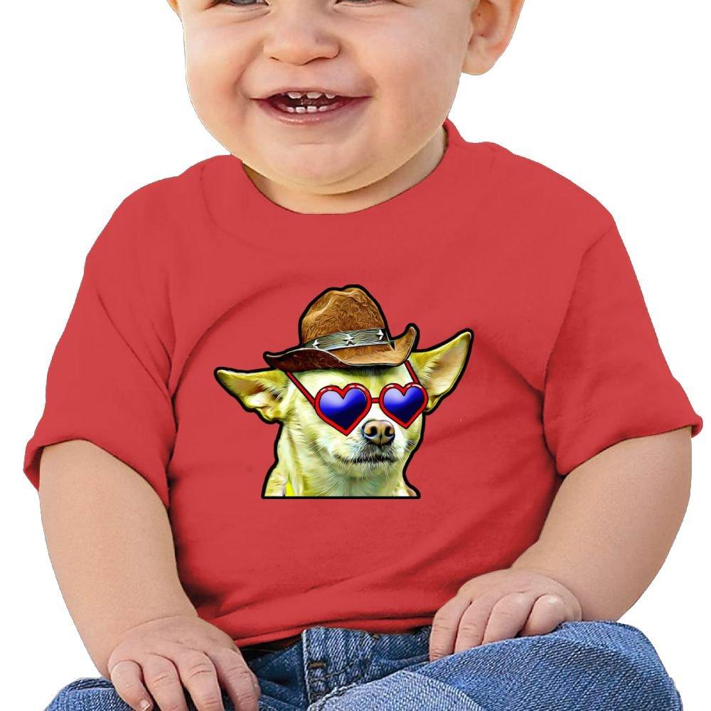 Arsmt Short Sleeve Caring Dog Glasses Sleeve Short Tshirt Baby Boys